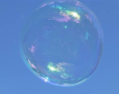 Elfchen zum Sommerabschied: Seifenblase