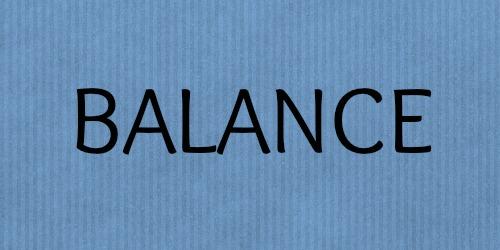 """""""Balance""""-Adventskalender zum Mitmachen: Balance"""