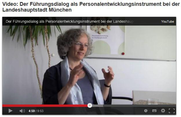 """Kleines Video-Interview mit mir zum """"Führungsdialog"""""""