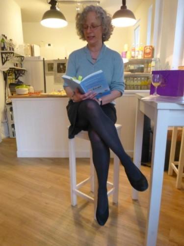Erste Buchpräsentation und Signierstunde im Café