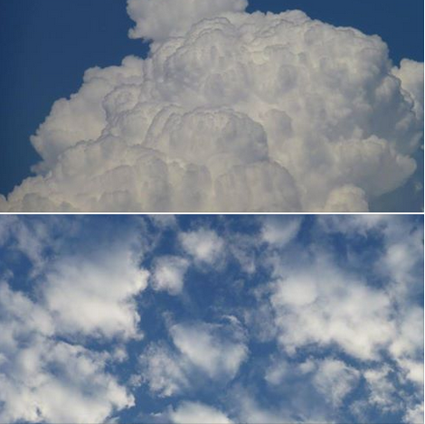 Tipp: Achtsames Wolkengucken