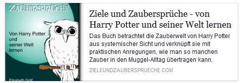 """Buchtipp: """"Ziele und Zaubersprüche"""""""