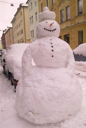 Silvester-Inspiration von der Schneefrau