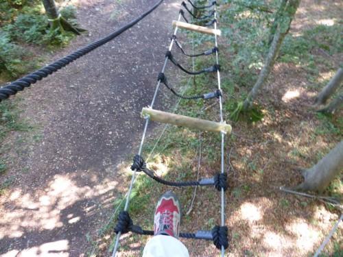 Wenn's Dir mulmig wird … : (Seelen)balancieren im Waldseilgarten