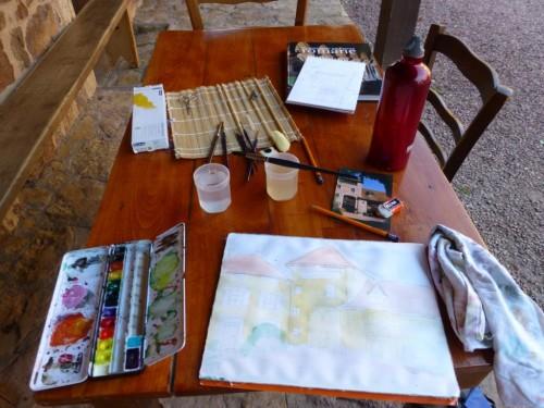 Im Skizzen-Flow: Entspannung und Freude durch achtsames Zeichnen und Malen