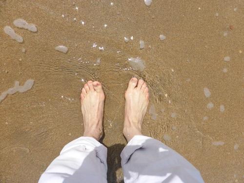 Strandfüße