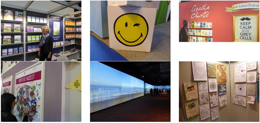 Ausmalbares und Handgeschriebenes: Foto-Impressionen von der Frankfurter Buchmesse 2016