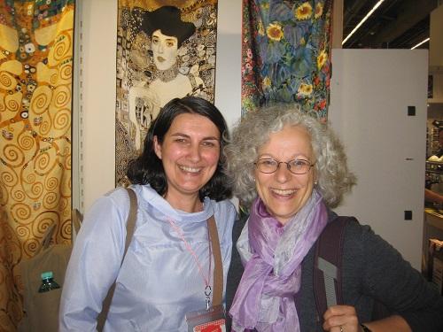 Frankfurter Buchmesse 2017, Teil 1: Treffen mit meiner Lieblingsrezensentin