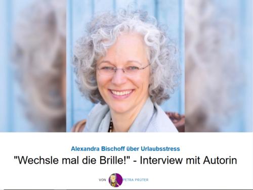 """Seelenbalancieren gegen Urlaubsstress: Interview mit mir durch """"Nur positive Nachrichten"""""""