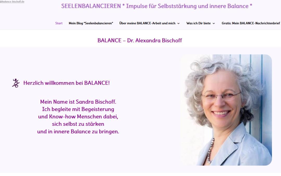 Seelenbalancieren.de hat eine neue Startseite!